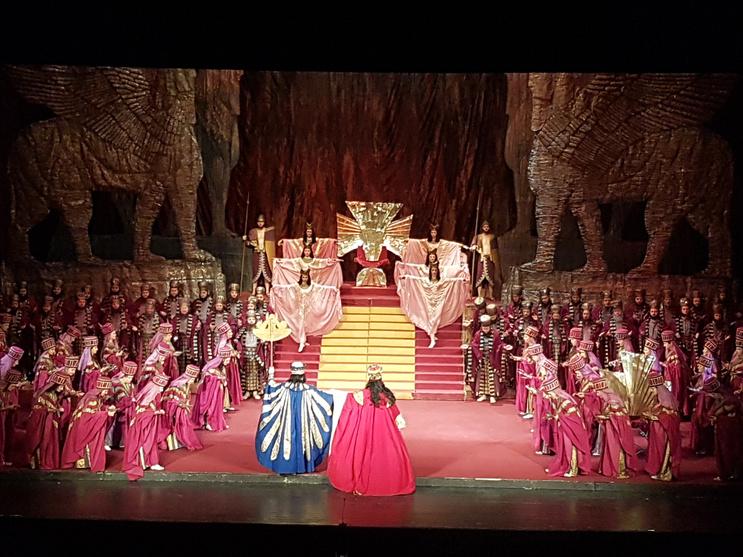 Diana Pîrje - Seara culturala opera Nabucco de Giuseppe Verdi