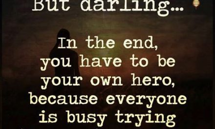 Serveste-i pe ceilalti, dar, mai intai, serveste-te pe tine!