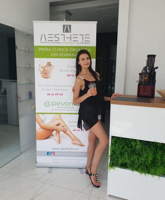 Beauty at its best la Aesthete Organic Clinique